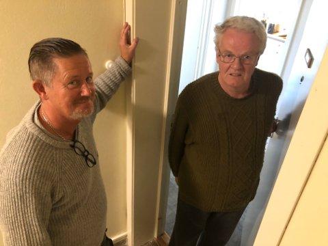 SKUFFET: – Vi må komme sterkere tilbake senere, sier Jørgen Berger Olsen (til venstre), og blir møtt med skuffelse hos Helge Hval.