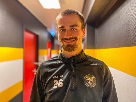 I KASSA: Det ble mye følelser da Andreas Adolfsen satte den viktige 2-1-scoringen, hans første på 20 måneder.