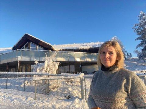 SMITTE I BARNEHAGEN: Gunn Randi Tuft er styrer i Sokna Natur- og Gårdsbarnehage. - Vi har vært forberedt på smitte, sier hun.