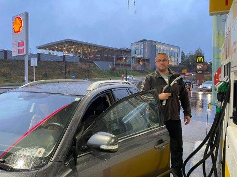 FRUSTRERT: Mats Bragmo var tydelig misfornøyd med prisene som møtte ham på Lørenskog fredag kveld.
