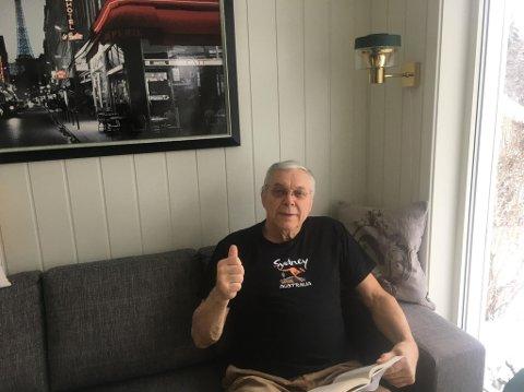 BILDER: - Jeg sitter og ser på bilder fra turene vi har hatt dit tidligere, og drømmer meg litt bort, sier Ole Martin Lerfaldet (70).