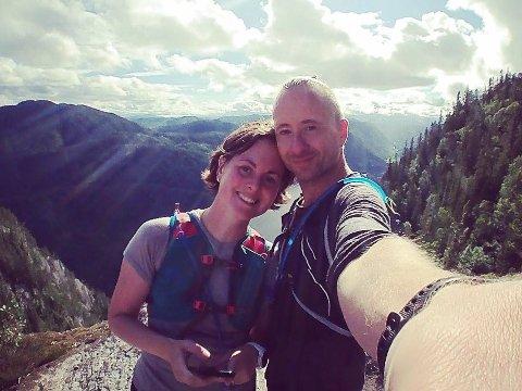 EKSTREME PLANER: Ida Elise Kaltoft og Yngve Johan Tirevoll forbereder seg til en bryllupsreise litt utenom det vanlige.
