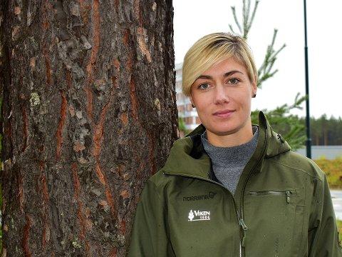 MYE TIL SAGBRUKENE: – Etterspørselen etter trelast var svært stor i 2020, og det er ventet at lagrene kan bli tomme i løpet av året, sier salgssjef Heidi Tandberg i Viken Skog.