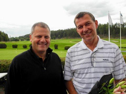 SLUTTER: Derek Crawford slutter som daglig leder på Storøya, og dermed må John-Magne Pedersen og golfklubben tenke nytt.