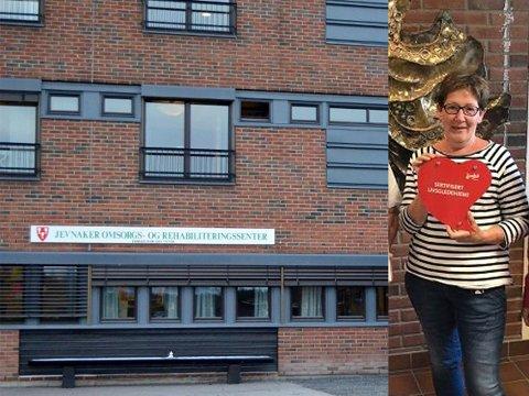 PENSJONIST: Astrid Westby går av med pensjon etter 15 år som leder ved Jevnaker omsorgs- og rehabiliteringssenter (JORS).