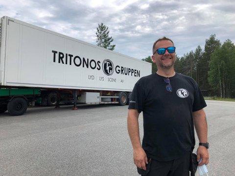 VIL SKAPE TREND: Jerry Karlsson vil skape en ny kinotrend i Hønefoss med drive in kino. – Det skal utvikles videre, lover han.