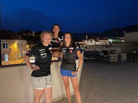 PALL I SOMMER GP: Silje Opseth slo virkelig til i Sommer GP-rennet i Frenstat i Tsjekkia søndag med en råsterk tredjeplass i konkurranse med verdens beste. Hersammen med landslagsvenninnene Thea Bjørseth og Anna Odine Strøm.