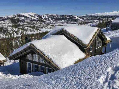 På deling: Skiclubpartner tilbyr denne hytta.