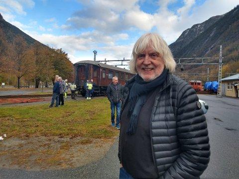 SNART PENSJONIST: Tinns verdensarvkoordinator Øystein Haugan går snart av som pensjonist. Nå er det avgjort hvem som overtar jobben.