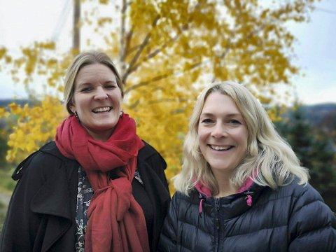 Silje Sjøtveit og Silje Halle-Knutzen deltok på inspirasjonstur til Etiopia med Kirkens Nødhjelp november 2018. Her rett før avreisen. (arkivfoto RA )