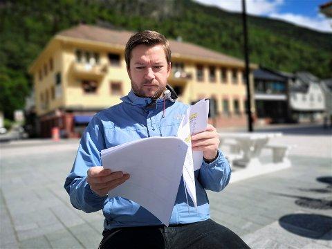 PROGRAM: Tinn Venstre med ordførerkandidat Marius Skeie i spissen har nå lansert sitt program for perioden 2019-2023 (arkivfoto)