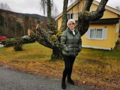 EIER: Grunneier Kari Elise Kåsa Graver er skuffet over statsadvokatens henleggelse, men vurderer nå å reise et erstatningskrav. (arkivfoto)