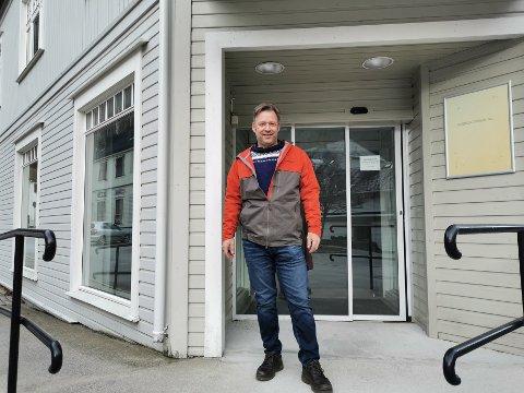 FELLESSKAP: Per Oddvar Andersen er daglig leder for Ifocus AS som har kjøpt første etasje i Byhjørnet.
