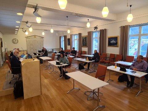 ENIGHET:  Formannskapet var enig om å beholde tilbudet ved psykiatrisk dagsenter på Rjukan.