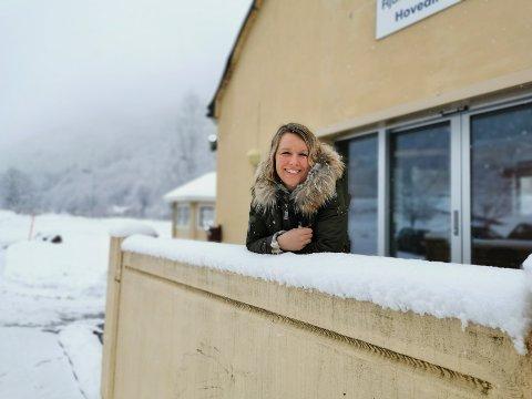 FJELLBUSSEN: Patricia Olsson, leder i alpingruppa til Rjukan idrettslag. sier at fjellbussen vil bli et stort savn.