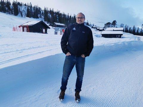 KLARE: Tom Majlund Nielsen i Gausta Holding sier de som jobber på Gausta er klare til å gjenoppta jobbene sine så fort de får klarsignal.