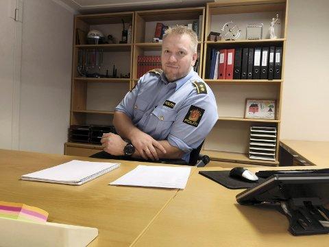 INGEN TILTALE: Politioverbetjent Robert Strand i politiet på Rjukan sier at påtalemyndighetene ikke tar ut tiltale i ATV-ulykken i Atrå for snart to uker siden.