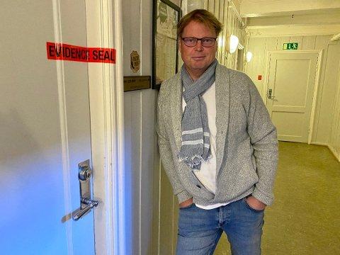 HYTTEIER I TINN: Jørn Lier Horst er nå eier av hytte i Gaustaområdet. Foto: Inger Lene O. Steen, Østlandsposten