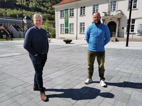 GODT SAMARBEID: Gaustabanen Halvor Haukaas og andre store reiselivsaktører i Gaustaområdet ønsker at Håvard Kleven kommer tilbake i jobben som selger i visitRjukan.