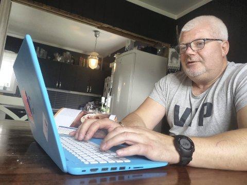 VAKSINERT: Jonny Listaul ble vaksinert med AstraZeneca-vaksinen torsdag, samme dag som nyheten om farlige bivirkninger stjal hele nyhetsbildet.
