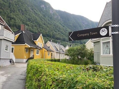 VERDENSARV PÅ SYKKEL: Company Town går gjennom Rødbyen og Tyskerbyen.
