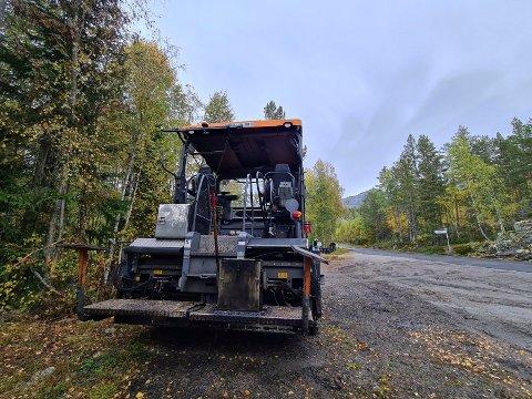 GOD NYHET: Ny asfalt på Hovinvegen er godt nytt for mange som ferdes på veien daglig.