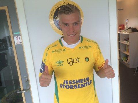 TOMMEL OPP: Martin Falkeborn ble fredag klar for Ull/Kisa.