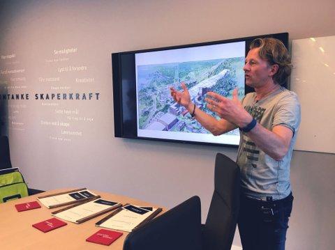 INVITERER TIL KONSEPTTEST: Daglig leder Bård Windingstad i Skihallen vil ha innspill fra brukerne på hvordan hallen skal være. Foto: Skihallen.no