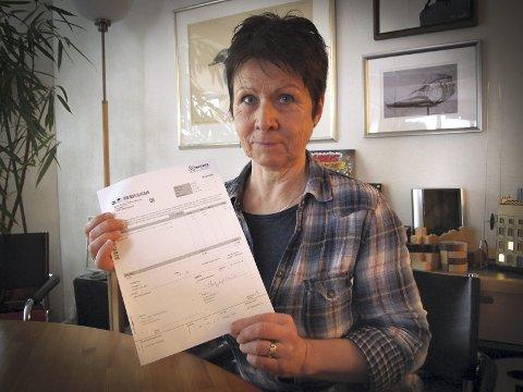 Oppgitt: Ursula Hennig Øyan mener Avinors parkeringsregime er for rigid.foto: Beate Kvien