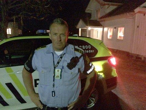 Politiets innsatsleder, Ketil Lund.