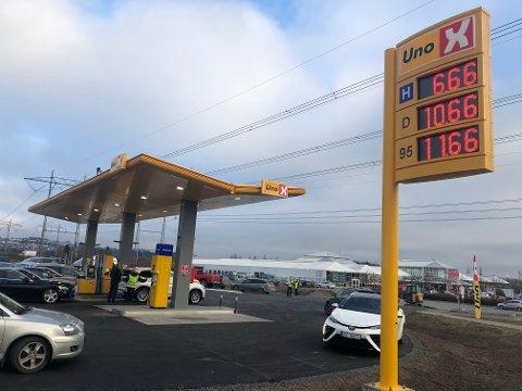 PRISKRIG? Kan dette føre til priskrig på drivstoff på Romerike i ettermiddag? (Foto: Veronika Sletta)