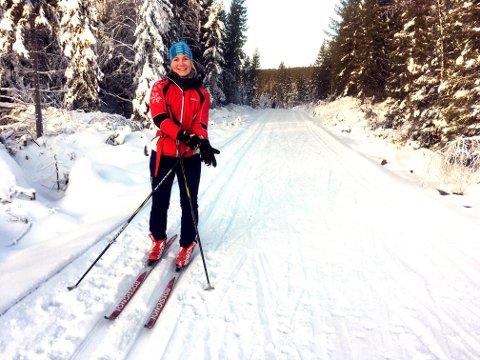 Sara Asakskogen, som var på vei til Sjonken fra Råsjøen, 1. juledag.