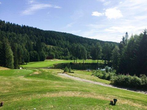 VARMEST: Hakadal, her avbildet på Aas Gaard Golfpark, var landets varmeste sted med 31,9 grader lørdag.