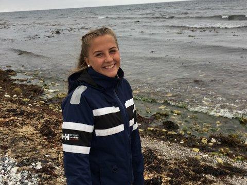 KOM INN: Tuva Olsen Englund fra Dal har kommet inn på førsteønsket sitt Eidsvoll videregående skole, i likhet med mange andre søkere i Akershus.