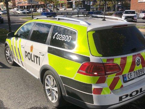 Politiet har kontroll på en person som skal ha blottet seg på Sørumsand søndag ettermiddag.