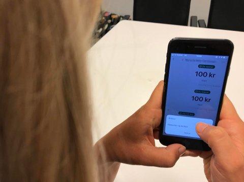 BLOKKERE: Du kan nå blokkere brukere i Vipps. Foto: Maria Schiller Tønnessen (Mediehuset Nettavisen)