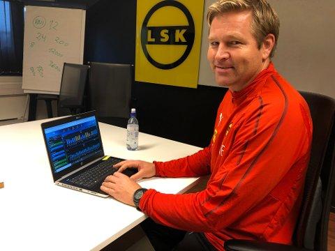 Har kontroll: Fysisk trener Geir Kåsene mener tallene GPS-målingene klubbene nå har tilgang til viser at kanarifuglene er på godt fysisk nivå.
