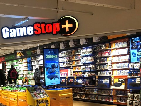 Nedleggelse: Romerike har to Gamestop-butikker, en av dem ligger på Strømmen Storsenter.