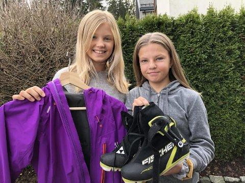 Astrid Edin og Nathalie Seim Knudsen står bak byttekvelden som skal arrangeres på Grønn Fredag, samme dag som Black Friday.