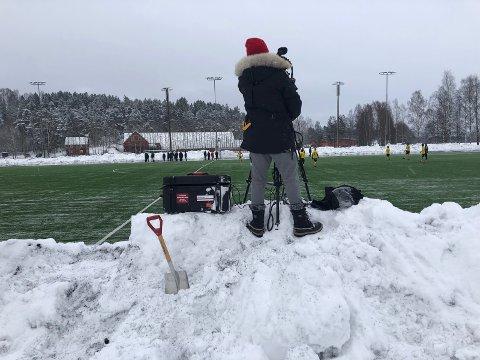 SNØEN HAR SMELTET: RB er klar for ny sesong i 3. divisjon.