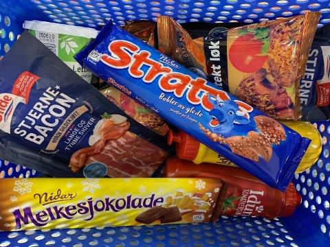 17. MAI PRISKRIG: Lavpriskjedene har kuttet prisen på en rekke sentrale matvarer til nasjonaldagen. Foto: Halvor Ripegutu
