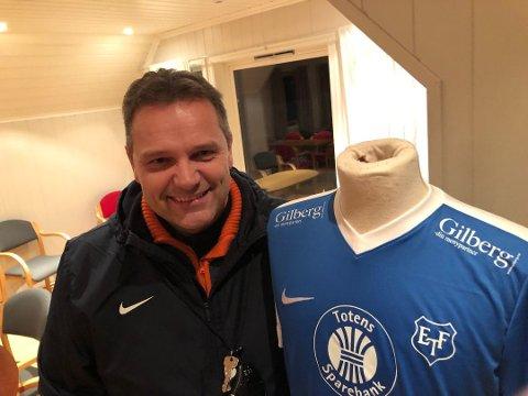 GIR IKKE OPP: Kyrre Innstøy og resten av Eidsvold Turn gir ikke opp håpet om å beholde plassen i 4. divisjon.
