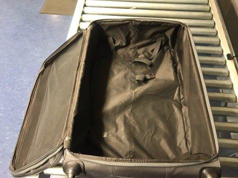 SKJULT BUNN: I denne kofferten fant politiet DNA fra tre personer, men ikke den 63-årige grekeren. Likevel ble han dømt.