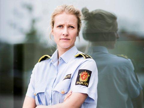 ALVORLIG: Leder i forebyggende avsnitt ved Lillestrøm politistasjon, Hilde Kallset Jensen.