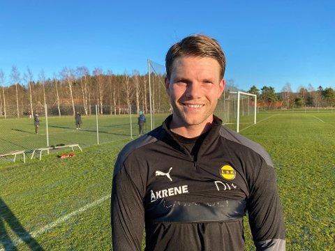 KLAR: Björn Bergmann Sigurdarson trener for fullt og blir klar til de tre siste seriekampene.