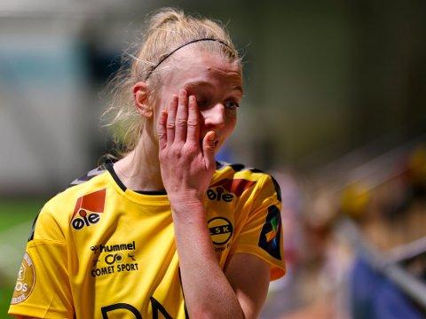 LEDET: Ina Gausdal scoret, men det ble nok et skuffende resultat for LSK Kvinner. Foto: Pernille Nielsen