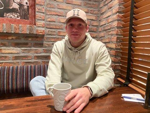 HJEMME I FINLAND: Etter kampen mot Nærbø 19. desember tok Miro Koljonen farvel med lagkameratene og reiste hjem til Finland.
