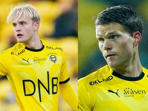 BLIR MED: Både Jonatan Braut-Brunes (t.v.) og Björn Bergmann Sigurdarson ble signert av LSK på nyttårsaften.