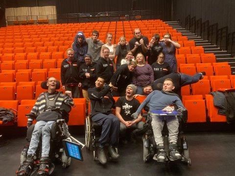 Peer Gynt skuespillere fra Det Grenseløse Teateret