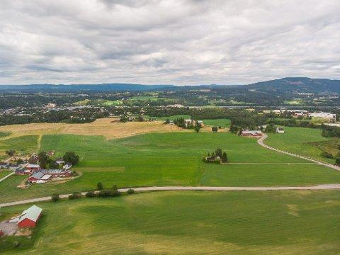 AVVIST: Klagen på at nye Vilberg skole bygges her førte ikke fram.